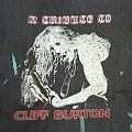 Metallica - TShirt or Longsleeve - A Tribute To Cliff Burton TS