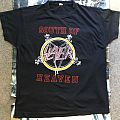 Slayer - South Of Heaven Euro Tour TS 1989 TShirt or Longsleeve