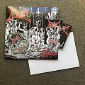Blood - Inferno vinyl & CD pack Tape / Vinyl / CD / Recording etc