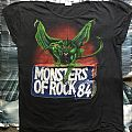 Monsters Of Rock 1984 OG TS  TShirt or Longsleeve