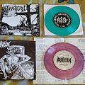 """Incantation - Tape / Vinyl / CD / Recording etc - Incantation & Derketa - 7"""" Seraphic Decay Rec. 1990"""