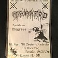 Few old concert flyers Other Collectable