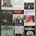Battery Mag. - Other Collectable - Some old DEATH/ Black fanzines