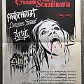 Antichrist - Scandinavian Tour poster  Other Collectable