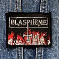 Original vintage Blasphème patch