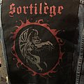 Original vintage Sortilège backpatch