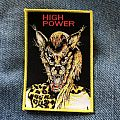 High Power s/t woven patch