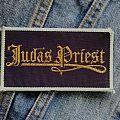 Judas Priest - Patch - Vintage Sin After Sin-era Priest logo patch
