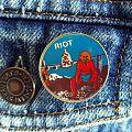 Riot - Pin / Badge - Vintage Narita badge