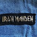 Early Iron Maiden logo mini strip Patch