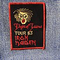 Iron Maiden - Patch - Flight of Icarus Tour 83 embroidered patch