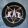 KAT Metal and Hell woven round patch