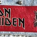 Vintage Iron Maiden debut strip Patch