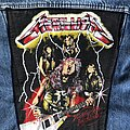 Metallica - Patch - Vintage Ride the Lightning backpatch