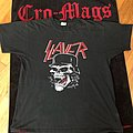 Early 90s/late 80s Slayer t shirt