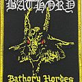 Bathory - embroidered patch