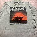 Faith No More rare European longsleeve hoodie. TShirt or Longsleeve