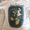 Alice in Chains We Die Young white shirt.