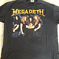 Megadeth band shot short sleeve by Brockum.