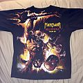Manowar: Hell on Stage tour shirt 1998