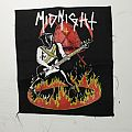 Midnight FAREWELL TO CRONOS Backpatch