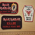Iron Maiden - Patch - Patches: Iron Maiden and Running Wild