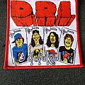 D.R.I 4 of a Kind Woven Patch