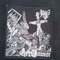 Raped God 666 woven patch