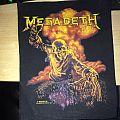 Megadeth 1987 vintage backpatch.