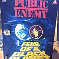 Public enemy Fear of a black planet backpatch