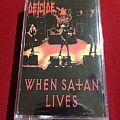 When Satan lives Tape / Vinyl / CD / Recording etc