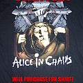 Alice In Chains - TShirt or Longsleeve - WANTED! A.I.C Bleed The Freak