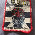 Storm Troopers Of Death - Patch - S.O.D. speak english or die