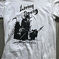 Living Death - t shirt white vengeance of hell
