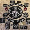 Kroda/UKR Black Metal - Tribute vest patches