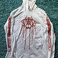 Lluvia - Enigma white hoodie Hooded Top