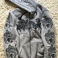 Satanic Warmaster - Fimbulwinter zip-hoodie Hooded Top