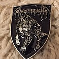 Grafvitnir - Pin / Badge - Grafvitnir - Wolf Shield metal pin