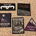 Storm - Patch - Bläk medal patches