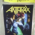 Patch - Anthrax - Spreading the Disease Backpatch 1989
