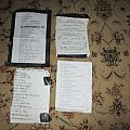 Accept - Other Collectable - My setlists
