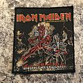 Iron Maiden Hallowed Be Thy Name Patch