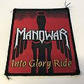 "Manowar ""Into Glory Ride"" Patch"