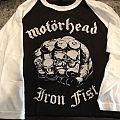 Motörhead Iron Fist Raglan