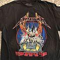 Metallica 2017 Tour Shirt