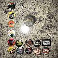 Metal / Rock Buttons Pin / Badge