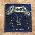 Metallica Ride the Lightning Vintage Patch