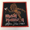 Iron Maiden Killer Tour Patch