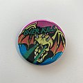 Overkill Button Pin / Badge