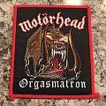 Motörhead Orgasmatron Patch